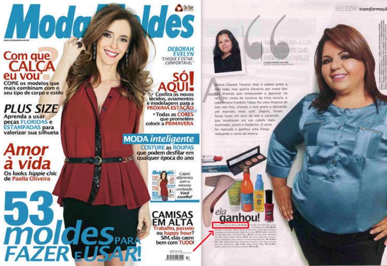 Revista ModaMoldes - Agosto/2013