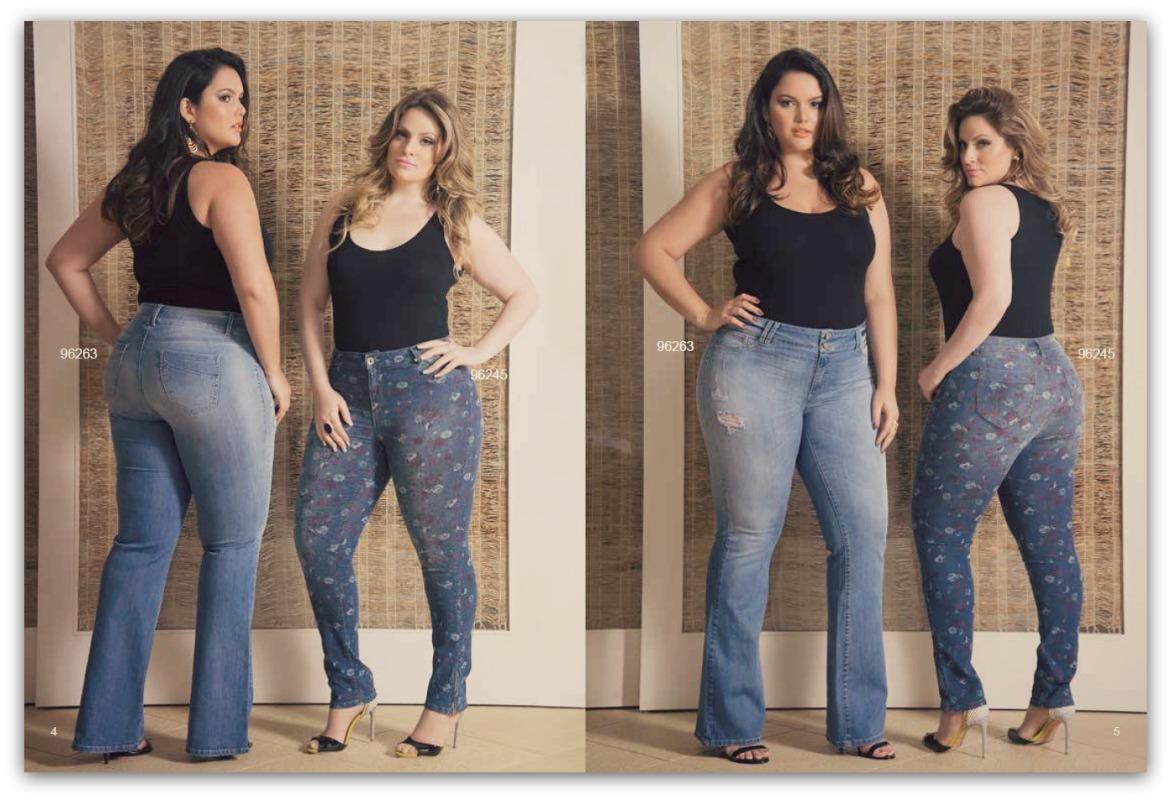 Calças jeans femininas plus size www.cantinhojutavares.com