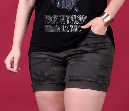 shorts camuflado
