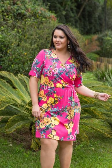 Vestido floral ref. 171211 R$ 139,90
