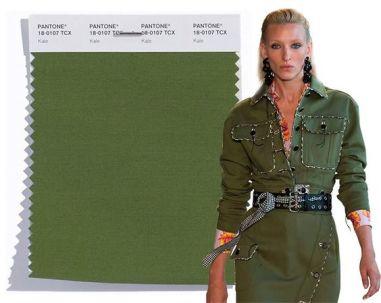 pantone verde militar
