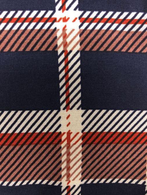 tricoline rayon xadrez