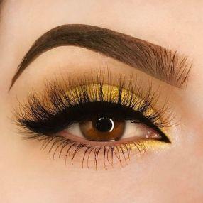 maquiagem amarela 2
